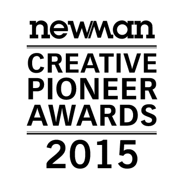Creative Pioneer Awards by Newman Magazine 2015