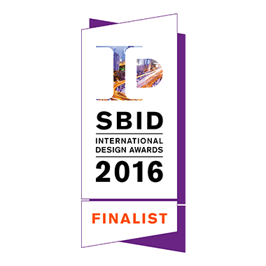 SBID (The Society of British & International Design) International Design Award 2016